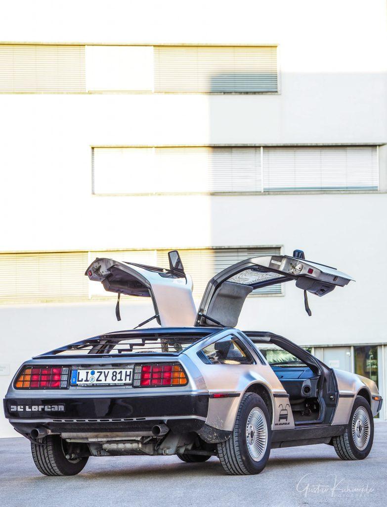 DeLorean mieten Vorarlberg